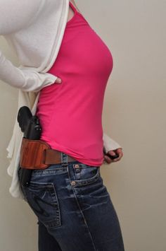 Concealed carry lace thigh holster for women ccw by for Pro carry shirt tuck