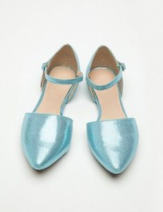 Enough moxie to steal attention from the highest of heels and pointiest of pumps.  Valencia Flats, $38
