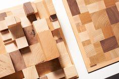 KEGIN : une cuisine de bois brut et à l'esprit contemporain - Effet Billot chutes de bois debout
