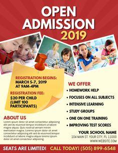 School Brochure, Home Tutors, Campaign Posters, Promotional Flyers, School Admissions, School School, School Posters, Free Downloads, Social Media Design