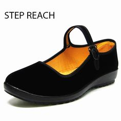 STEPREACH Woman Mary Jane Shoes Flat Black Canvas Comfortable Spring Autumn Suede Buckle Strap Women Round Toe Solid Casual Sh |  Cheap Product is Available. Here we will give you the discount of finest and low cost which integrated super save shipping for STEPREACH Woman Mary Jane shoes flat Black canvas comfortable spring autumn suede Buckle Strap women Round Toe Solid Casual Sh or any product.  I think you are very happy To be Get STEPREACH Woman Mary Jane shoes flat Black canvas…