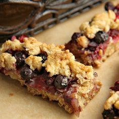 This easy Berrylicious Bar Cookies recipe is a delicious snack recipe, sure to be a new family favorite! Great dessert for potlucks and the 4th of July too!