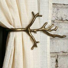 Branch Curtain Tieback