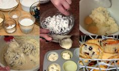 TUTO : RECETTE MUFFINS AUX BLEUETS & CITRON Breakfast, Food, Sweets, Lemon, Meal, Morning Coffee, Eten, Meals, Morning Breakfast