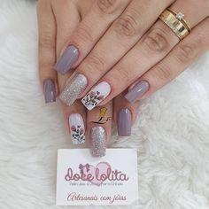 Nail Swag, Nail Art Designs Videos, Nail Designs, Long Square Nails, Perfect Nails, Nail Trends, Nail Arts, Toe Nails, Eye Makeup