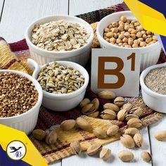 La vitamina B1 ayuda al cuerpo a crear nuevas células, también es importante para fortalecer el sistema inmunológico. Procura incluirla en tu dieta con frijoles, legumbres, pescado y cacahuates.