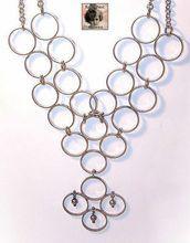 RETRO MODERN SIlverplate Necklace by Kaija Aarikka, Finland! Finland, Silver Plate, Retro, Modern, Jewelry, Home Decor, Jewellery Making, Homemade Home Decor, Trendy Tree