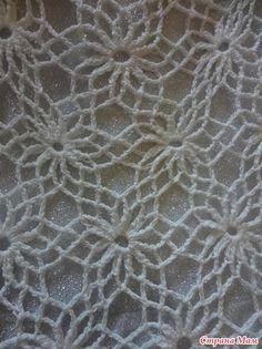 - Knitting - Country Mom Source by Crochet Stitches Patterns, Crochet Chart, Filet Crochet, Crochet Motif, Crochet Doilies, Crochet Flowers, Crochet Lace, Diy Crochet Cardigan, Crochet Tablecloth Pattern