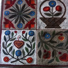 by Diane Gignac Tanerillo   ~her rugs are gorgeous ~