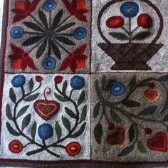 Hooked rug!