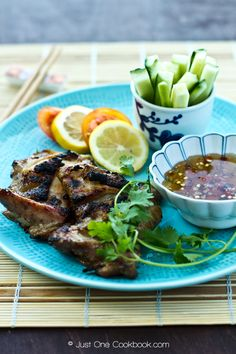 Grilled Lemongrass Chicken @Nami | Just One Cookbook
