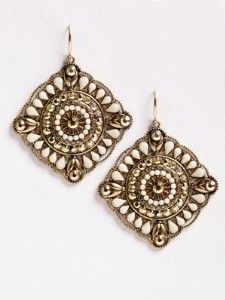 Cute Egyptian Stones Earrings