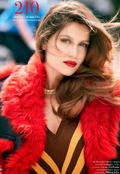 Laetitia Casta by Patrick Demarchelier for Tatler Russia October 2014