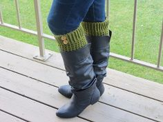 Two Hour Boot Cuffs - Just like the leaves changing colors, you can change the colors of your outfit with these easy boot cuffs. Make a pair to match every outfit.