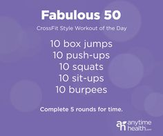 Workout Wednesday: Crush It with a CrossFit-Style WOD (only uses jump-box; no other equipment)