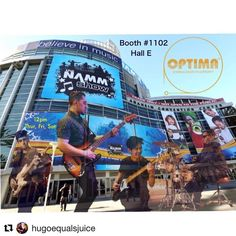 #Repost @hugoequalsjuice with @get_repost  Got my guys hitting with me next week at NAMM  gonna be playing Thursday Friday and Saturday @12 ! Come through and hang with us ! OTPTIMA BOOTH #1102 Hall E. Lower level (downstairs) @optimastrings @refractbags @gallienkrueger @mu_fx #namm #optimastrings #goldstrings #letsgo #bassplayer #ready #bass #bassist #winternamm #namm2018 #namm18 #artist #musician #ready #refractbags #refractcases #booth1102 #optimabooth
