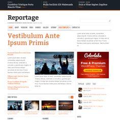 Reportage WordPress Theme