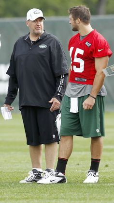 You want me to do what? Tim Tebow - New York Jets Training Camp