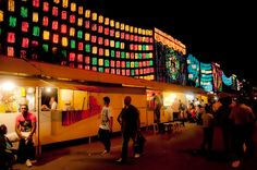 Medellin, Colombia has one of the most magical light displays in the world!