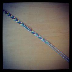 old skool string bookmark
