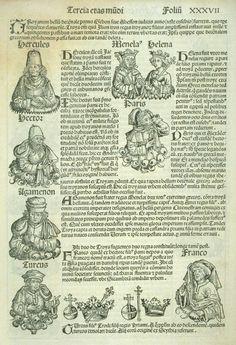 Anton Koberger: Nuremberg Chronicle 1493AD