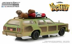 GREENLIGHT 1:64 NATIONAL LAMPOON/'S VACATION WAGON QUEEN WITH AUNT EDNA CHASE