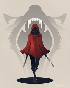 Pin by Ulanda on Little Red Riding Hood t Sexy cartoons Character Inspiration, Character Art, Character Design, Fantasy Kunst, Fantasy Art, Little Red Hood, Little Red Ridding Hood, Red Riding Hood Wolf, Big Bad Wolf