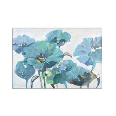 Uttermost 35305 Calming Poppies Floral Impressionist Wall Art Artwork ($359) ❤ liked on Polyvore featuring home, home decor, wall art, artwork reproduction, canvas art, wall decor, uttermost home decor, floral home decor, floral wall art and poppy flower wall art