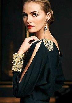 Ralph Lauren dress.  lovely sleeve  http://www.pinterest.com/JessicaMpins/