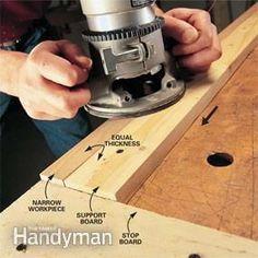 Router Basics: The Family Handyman