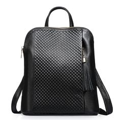 Fashion Women Backpack High Quality Real Leather Mochila Escolar School Bags  For Teenagers Girls Top- e46d2377e4e1d
