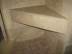 Corner Triangular bench