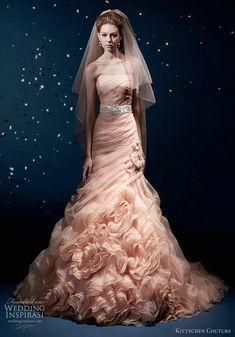 kittychen couture 2012 bluch wedding gown