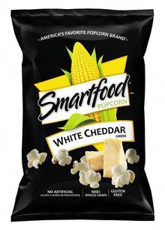 Smartfood Popcorn White Cheddar 9 Oz Save With Combined Shipping White Cheddar Popcorn, Cheese Popcorn, White Cheddar Cheese, Gourmet Recipes, Snack Recipes, Snacks, Smartfood Popcorn, 90s Food