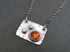 Metal Jewelry, Pendant Jewelry, Pendant Necklace, Jewelry Making Tutorials, Sterling Silver Necklaces, Copper, Gems, Pendants, Personalized Items