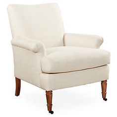 Avery Roll-Arm Chair