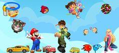 İnternette eğlence denilince akla ilk gelenlerden biri de oyun oynamaktır. Bu resimdeki tüm karakterler http://www.tokoyun.com 'da.