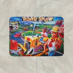 Tommy Pinball Wizard Game Rug Mat Floor Door Cotton Collectible the Who