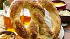 Cheer your team to victory with our Pillsbury® pizza crust  soft pretzel.