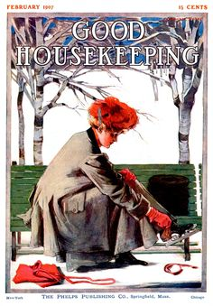 Good Housekeeping Feb 1907 - Cover ILL.  by  Cushman Parker