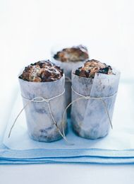christmas muffins w/cherries and cranberries