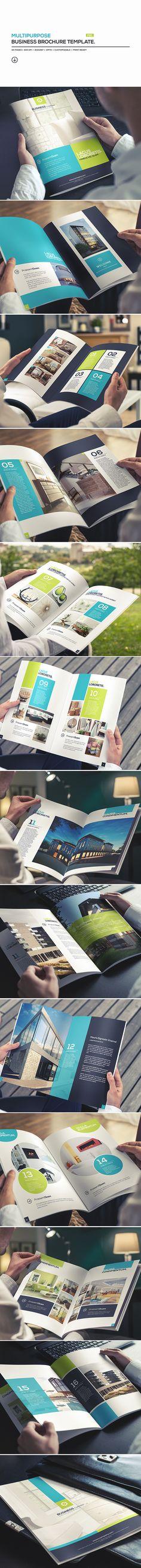 Multipurpose Business Brochure Template on Behance