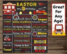 Boy's birthday chalkboard, Firefighter bday, Firefighter theme, fire truck birthday, fireman party, boy's fireman decoration, 4th, 5th, 6th, Firefighter Birthday Invite, Fireman, invitation, boy first birthday, firefighter chalkboard, fire truck birthday, board, firetruck, 4th 5th, fireman birthday, firetruck birthday, fireman theme party, fireman birthday party decoration, boy fireman party, fireman poster, fireman invite, fireman invitation, firetruck invite, fireman party decor, fireman… Chalkboard Invitation, Chalkboard Poster, Birthday Chalkboard, Invite, Fireman Party, Firefighter Birthday, Boy First Birthday, Birthday Board, Birthday Party Decorations