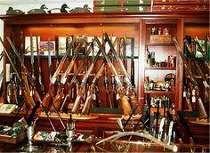 Holland and Holland Gun Room