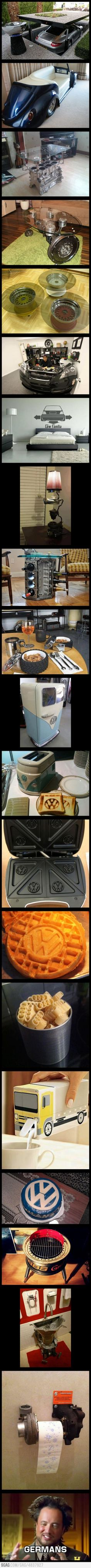 ...some things you can do with car parts