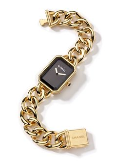 16 Gifts for the Gamine - Chanel Watch gold watch, $24,500, Chanel Fine Jewelry.6