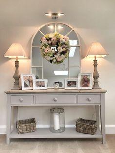 Romantic and Homey Vanity-Inspired Look