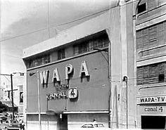 WAPA-TV es una estación de televisión que comenzó inicialmente sus operaciones en un edificio situado en la avenida Ponce de León, parada 7 en Puerta de Tierra, San Juan, Puerto Rico.