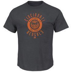 Men's Heathered Cincinnati Bengals T-Shirt