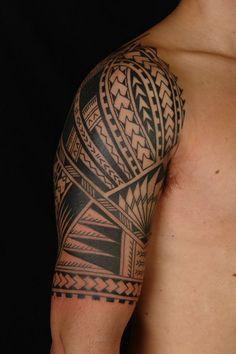 Maori Half Sleeve Tattoo Designs